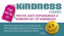 random act of kindness card