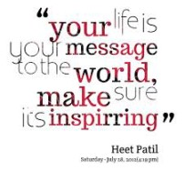 inspired message