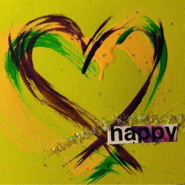 happy heart, branding