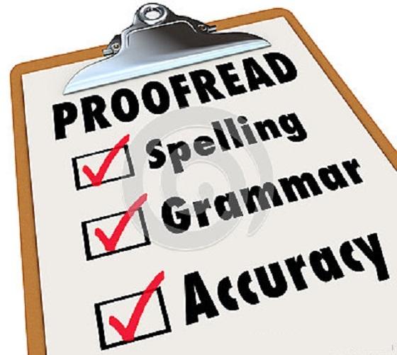 good content - grammar