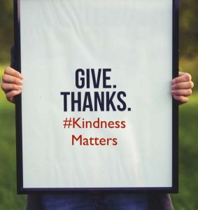 give thanks kindness