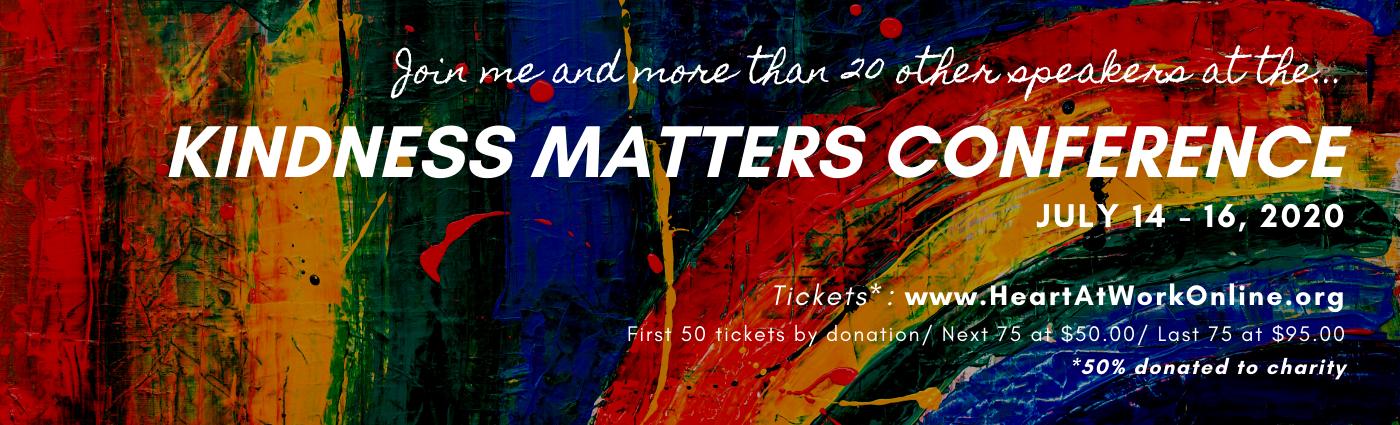 kindness matters tickets